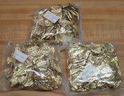 Lot Of 300 Gold Tone Metal Maple Leaf Stampings Leaves Jewelry Craft Accents
