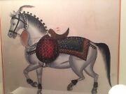 Vintage Original Chinese Silk Painting Appraised By Antiques Road Show For 1500
