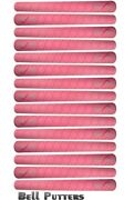Fifteen 15 Enlow Golf Grips-pink-midsize/oversize-backweighted Reverse Taper