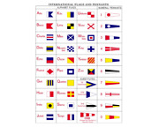 Code Signal Flag Set All Weather Nylon Multiple Sizes And Mountings Available