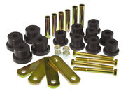 Prothane For 67-81 Chevy Camaro Hd Spring And Shackles Bushings - Black - Pro7-105