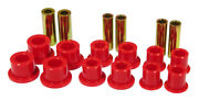 Prothane For 99-04 Ford F250/350 Sd 2/4wd Front Leaf Spring Bushings - Red - Pro