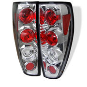 Spyder For Chevy Colorado For 04-13/gmc Canyon 04-13 Euro Style Tail Lights Chro