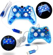 New Glow Usb Wired Game Controller Game Pad For Microsoft Xbox One / Xbox 360