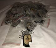 """Wholesale Lot Of 48 Guinness Dog Tags Bottle Opener With 30"""" Ball Chain Necklace"""