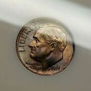 1961 Roosevelt Dime Ms67 Ngc Old Fatty Undergraded