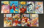 Iron Man 1992 Back End Set 276 To 332 Avg Vf+missing 11 Booksset Has 319302