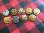 1986-1992 Du Ducks Unlimited Canada 50th. Anniversary Pins Plus Others Hunting
