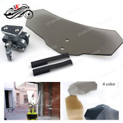 Windshield Extension Airflow Wind Deflector For Bmw R1150gs Abs Adventure Clear