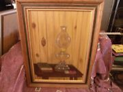 Vintage Goldie Hillman Still Life Lamp And Bible West Texas