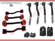 12pc Front/rear Sway Bar Links Bushings Tie Rod Ends 1999-04 Jeep Grand Cherokee