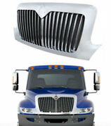 Front Grille Chrome Grill For 02-18 International 4100 4200 4300 4400 8500