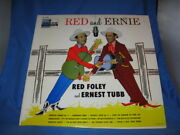 Red Foley And Ernest Tubb Red And Ernie Lp Dl8298 [inv-42]