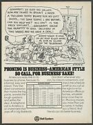 Bell System- Mommy Needs 15 Cans Of Cat Food Now - 1979 Vintage Print Ad