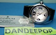 Corum Bubble Steel Automatic Watch Leather Menand039s Jewelry 82.150.20 Swiss Wr