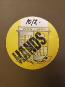Billy Joel Working Staff Pass For 93-94 River Of Dreams Tour