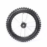 70/100-17 1.6x17 15mm Axle Hole Front Knobby Wheel For Pit Dirt Bike Motorcycle