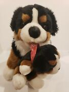 Carl Dick Burmese Mountain Dog Mother With Puppy Plush Hennef Germany Rare