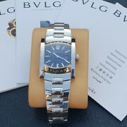 Bvlgari Assioma Aa 39 S Stainless Steel Watch.andnbsp