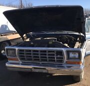 1979 Ford Pickup Truck Front Clip - Willing To Part Out - Free Shipping