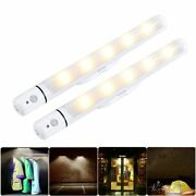 Wireless Battery Operated Light Camping Led Kitchen Cabinet Garage Stairs Lamp