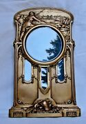 Ww1 Photo / Picture Frame Susse Freres Bronze Signed