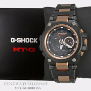 Authentic Casio G-shock Menand039s Steel Metal Solar Mtg Series Watch Mtgs1000bd-5a
