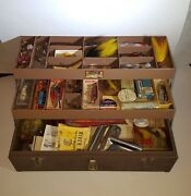 Vintage Kennedy Kits T-18 Box Loaded With Lures Boxes Rare Tackle Fishing Baits