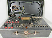 Epsey Model 104-tc Vintage Us Army Signal Corps Combination Tester