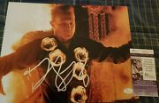 Robert Patrick Terminator 2 Signed 11x14 In Person. Jsa Certified