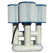 Bottom Feeder 0.5hp Solar Pool Filter Pump 6000 Gph 330w Without Pv Solar Open
