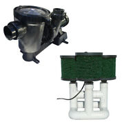 Bottom Feeder 0.5hp Solar Pond Filter Pump 6000 Gph 330w Without Pv Solar Open