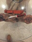 1960 Ted Williams  Schrade Walden Bowie Hunter - Rare Special Issue Knife