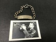 Arlen Saylor Football Fly Eagles Fly Us Army Band Sterling Silver Bracelet