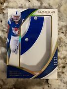 2018 Immaculate Collection Daurice Fountain Jumbo Helmet Patch 01/12