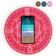 Universal Magic Circle Wireless Charger Qi Fast Quick Charging Pad For Iphone X