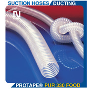 Protape Pur 330 Food Hose Ducting For Gases And For Abrasive Dust