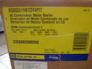 New Rare Square D Combination Motor Stater Ac 50006-388-02c / 8538sdg11v81cff4p1