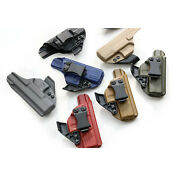 Fits Glock 43 43x Kydex Iwb Holster. Adjustable Ride Height And Cant +claw/ Wing