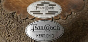 Fageol Twin Coach Bus Truck Data Plate Acid Etched Choice