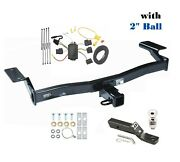 Trailer Hitch Package W 2 Ball For 2007-2010 Ford Edge Exc. Sport, Lincoln Mkx