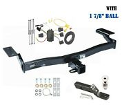 Trailer Hitch Package W 1 7/8 For 2007-2010 Ford Edge Exc. Sport, Lincoln Mkx