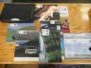 Oem 2005 Bmw M3 Convertible Owners Manual Set With Original Window Sticker