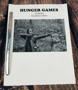 Hunger Games Script By Suzanne Collins Loose Leaf Script Metal Binding