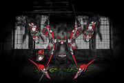 Yamaha Raptor 700 2013-2021 The Freak Show Graphics For White And Red Parts 700r