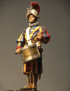 Little Drummer Of Pontifical Swiss Guard Tin Painted Toy Soldier Pre-sale | Art
