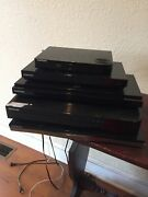 Lot Of 5 Samsung Blu-ray Players -various Models Untested Powers On