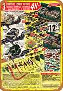 Metal Sign - 1967 Fishing Tackle Sets - Vintage Look Reproduction