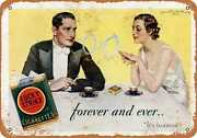 Metal Sign - 1932 Lucky Strike Cigarettes - Vintage Look Reproduction