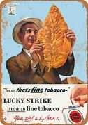 Metal Sign - 1944 Lucky Strike Cigarettes - Vintage Look Reproduction